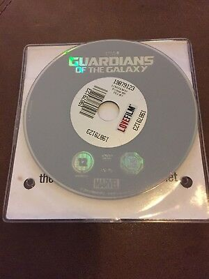 Marvel's Guardians of The Galaxy DISC ONLY Volume 1 DVD Chris Pratt Vin Diesel