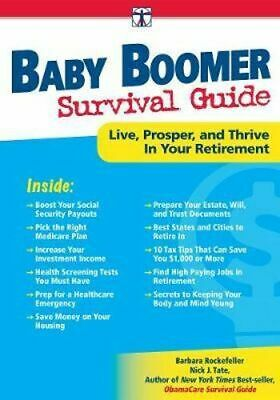 NEW Baby Boomer Survival Guide By Barbara Rockefeller Paperback Free Shipping