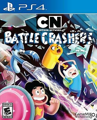 Playstation 4 Ps4 Game Cartoon Network Battle Crashers Brand New And Sealed