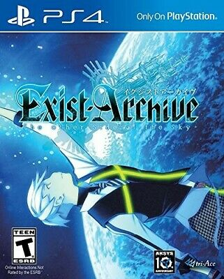 Playstation 4 Ps4 Game Exist Archive The Other Side Of The Sky Brand New Sealed