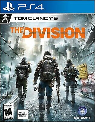 Playstation 4 Ps4 Game Tom Clancy's The Division Brand New And Sealed