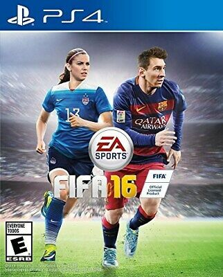 Playstation 4 Ps4 Game Fifa Soccer 2016 Brand New And Sealed