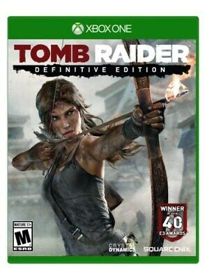Xbox One Xb1 Game Tomb Raider Definitive Edition Brand New And Sealed
