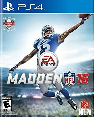 Playstation 4 Ps4 Game Madden Nfl 16 Brand New And Sealed