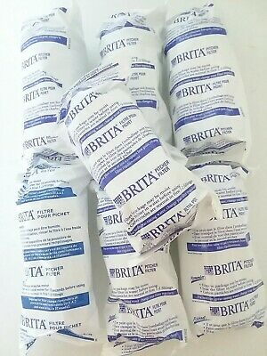 NEW Brita Water Filter Pitcher Advanced Replacement Filters 7 Count Pack