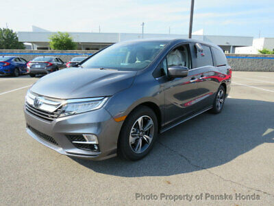 2019 Honda Odyssey Touring Automatic Touring Automatic New 4 dr Van Automatic Gasoline 3.5L V6 Cyl Modern Steel Metal