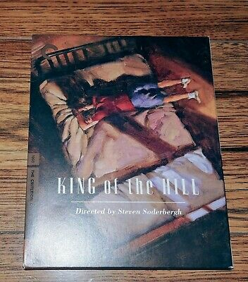 King of the Hill (Blu-ray Disc, 2014, 3-Disc Set, Criterion Collection)