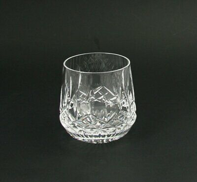 "Waterford Lismore Roly Poly Rocks Glass 9 oz - 3.25"" Mint Multiple Available"