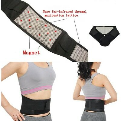 Magnetic Back Support -14 Pain Relief Magnets- Lower Lumbar Brace Belt Strap