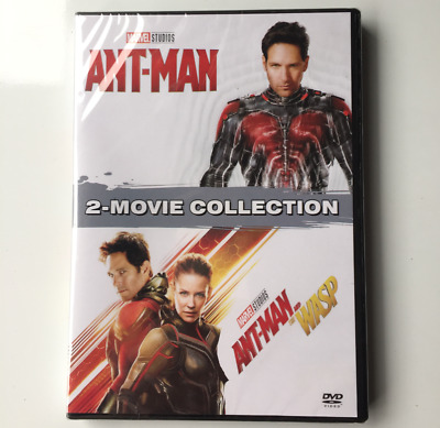 Marvel Lot ANT-MAN 1 2 Movie Collection DVD BUNDLE  ANT- MAN AND THE WASP 12