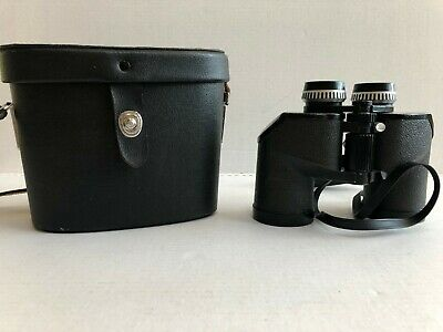 Vintage Sears Discoverer Zoom Binoculars Model 473.25850 8x-17x40mm With Case Binocular Cases & Accessories