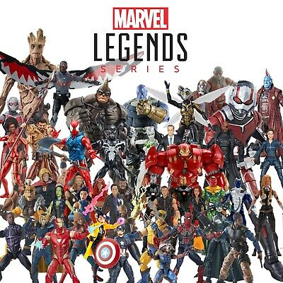 Marvel Legends Avengers, X-Men, Spider-Man, Black Panther, etc... You Choose