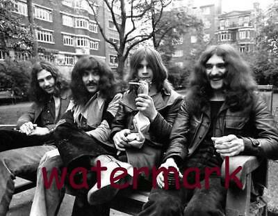 Black Sabbath in the early 1970s. PUBLICITY PHOTO