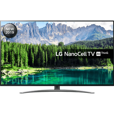 LG 55SM8600PLA SM8600 55 Inch TV Smart 4K Ultra HD Nanocell Freeview HD and