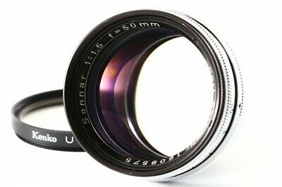 Carl Zeiss Sonnar Nr 50mm F/1.5 for Contax IIIa and Similar from Japan Exc++