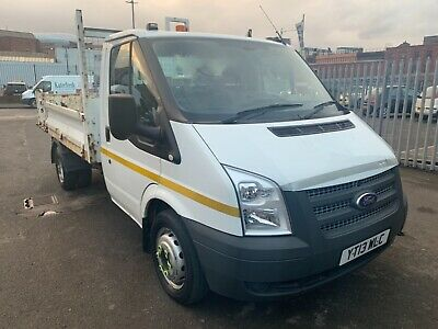 2013 Ford Transit Tipper 350 2.2 Tdci Rwd Twin Wheels One Owner