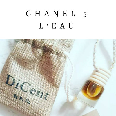 Chanel L;eau Luxury Designer Inspired Hanging Car Perfume Oil Diffuser #571