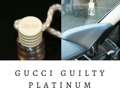 GUILTY PLATINUM Luxury Designer Inspired Hanging Car Perfume Oil Diffuser #736