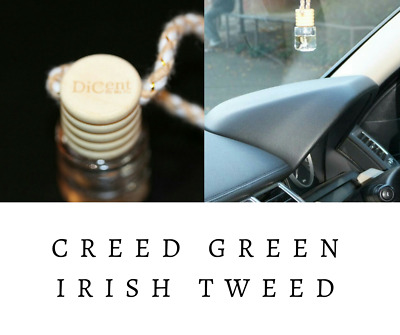 GREEN IRISH TWEED Luxury Designer Inspired Hanging Car Perfume Oil Diffuser #960