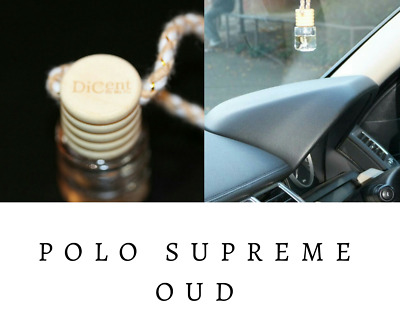 POLO SUPREME OUD Luxury Designer Inspired Hanging Car Perfume Oil Diffuser #705