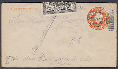 1914 ish (various dates?) interesting old Mexico Cover per scans