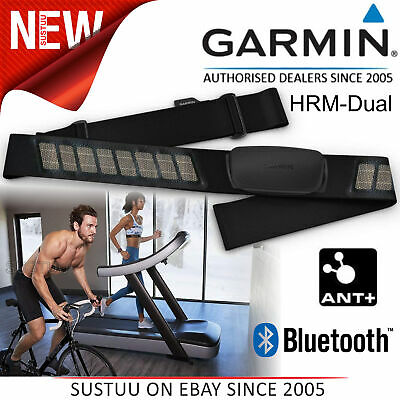 Garmin HRM-Dual│Heart Rate Monitor Strap│For Forerunner 210/220/225/230/235/645