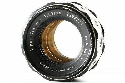 Asahi Pentax Super Takumar 55mm F/1.8 M42 Screw Mount from Japan 2386771 Exc+