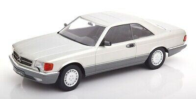 Mercedes Benz 560 Sec C126 Silver 1980 KK SCALE 1:18 KKDC180332 Model