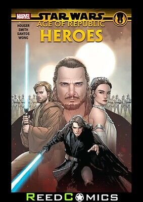 STAR WARS AGE OF REPUBLIC HEROES GRAPHIC NOVEL Collects 5 Part Series + more