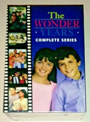 Brand New! The Wonder Years: The Complete Series. 22 Disc Dvd Box Set. Free Ship