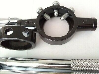 """Adjustable Thread DIE holder 1/4 to 1"""" or M6-M25 Wrench Carpentry Repair Tool"""
