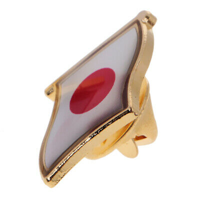 1Pc Japan National Flag Pin Badge pour Homme Femme Lapel Badge Country Pride