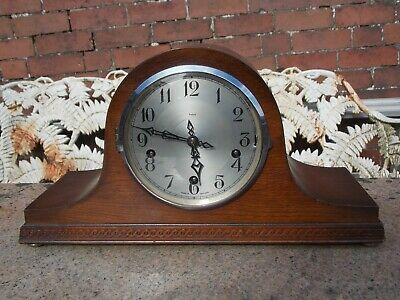 Enfield Westminster Chime Mantel Clock in GWO. Made in England.