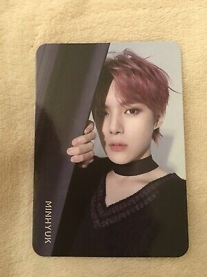 Monsta X Are You There  - Official Minhyuk Photocard