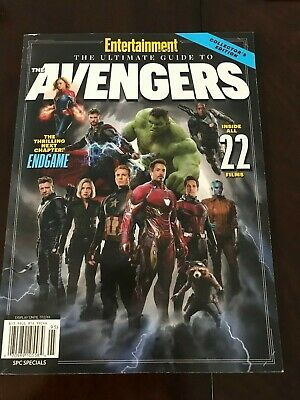 Ultimate Guide to the Avengers: Endgame Entertainment Weekly Book Magazine New!!