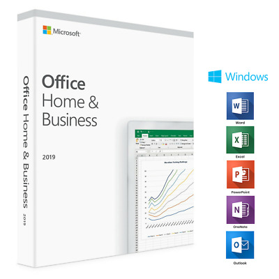 Microsoft MS Office 2019 Home & Business Vollversion Original Produktkey