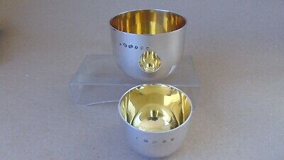 Superb Sterling Silver Tumbler Cups 2001