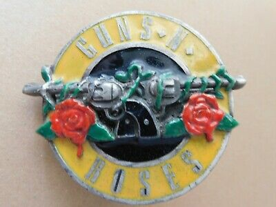 Vintage Guns 'N' Roses Belt Buckle. Brockum Collection, 3069, 1992, Usa