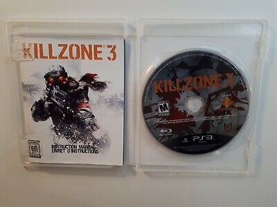 KILLZONE 3 Playstation 3 PS3 Complete in Box w/ Manual CIB - FAST FREE SHIPPING