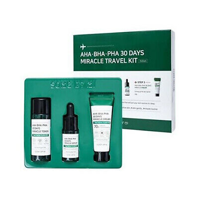 Some By Mi Aha Bha Pha 30days Miracle Travel Kit (3items)/ Free Gift / Korean