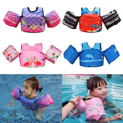 Baby Floats for Pool Kids Life Jacket for Infant Toddler Swim Vest with Arm Wing