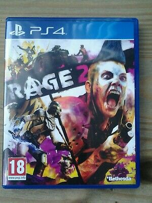PS4 Rage 2 game in very good condition