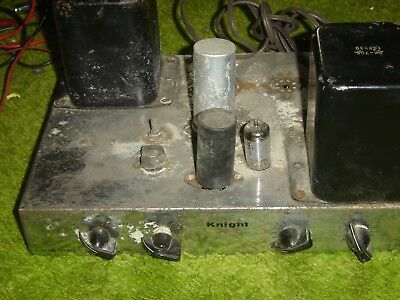 Vintage 1950'S Knight Williamson-Type Tube Amplifier 5881 / Kt66 Outputs Parts