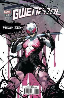 Gwenpool #13 Putri Venomized Variant Cover Marvel Comic Book New 1 Venom 2017