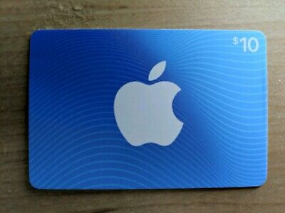 Apple App Store and iTunes $10 Gift Card