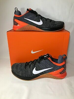 Nike Metcon DSX Flyknit 2 Men's Sz 13 Cross Train Black/Crimson (924423 005)