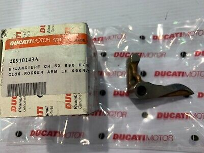 New Genuine Ducati 996R 998Rs Rs Left Hand Engine Closing Rocker Arm 20910143A