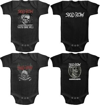 SKIDROW BABY ONE PIECE CREEPER HEAVY  METAL ROCK T-SHIRT NEW