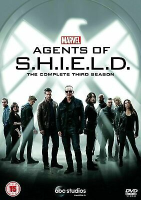 Marvel's Agents Of S.H.I.E.L.D Shield Season 3 (DVD) New Free Same Day Shipping
