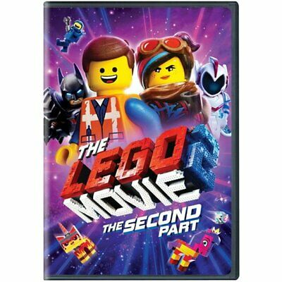 The Lego Movie 2: The Second Part (2- DISC DVD, 2019) - BRAND - NEW SEALED